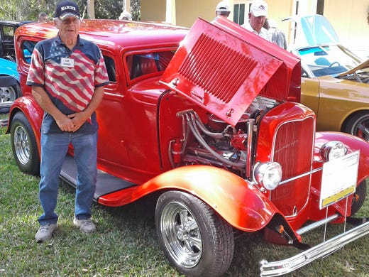 Garden Of Auto Delights Hot Rod Custom Car Show Brings Color To McKee - Vero beach car show