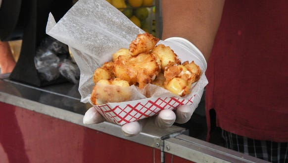 Cheese curds are always a favorite at the Sioux Empire