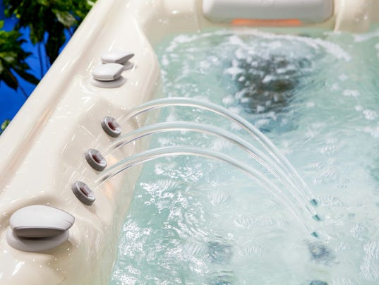 generic stock image hot tub spa sauna jacuzzi