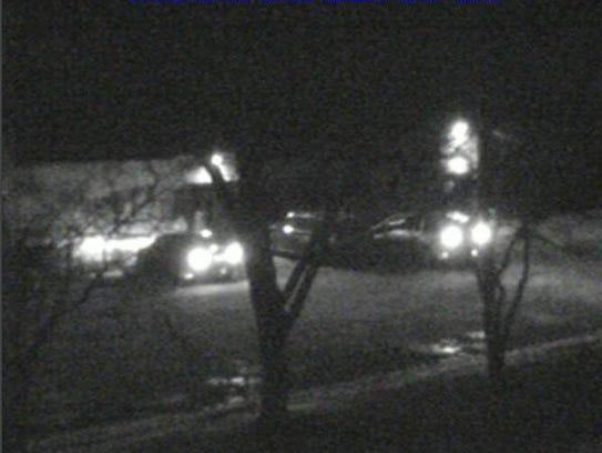 FBI surveillance photo shot outside a Livonia clinic