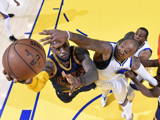 LeBron James, Marreese Speights