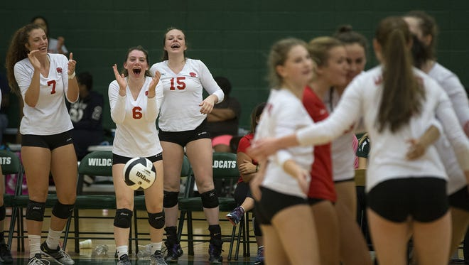 FILE — Changes to the IHSAA volleyball tournament were approved Thursday.