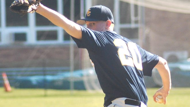 Eastern Christian sophomore pitcher Ollie Bach will be the ace for the Eagles to start the season.