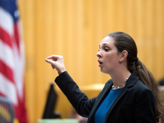Knox County Assistant District Attorney Ashley McDermott