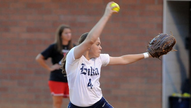 Enka junior Courtney Pearson has committed to play college softball for Queens.