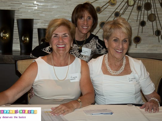 2. Kath Bergin, Colleen Wahl and Donna Messer.