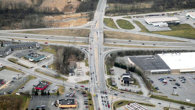 The Mt. Rose intersection at Interstate 83, as seen from the east in this 2012 photo.
