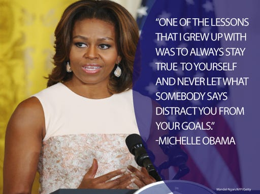 Michelle Obama Famous Quotes