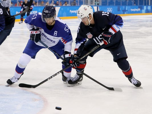 4fbf726d826 USA must play up-tempo in Winter Olympics rematch with Slovakia