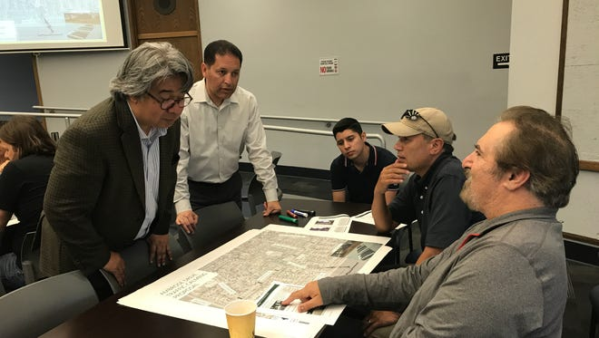 City staff are working with residents to produce a traffic calming plan.