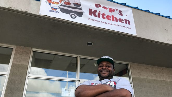 John Capers, 48, is the owner of Pop's Family Kitchen.