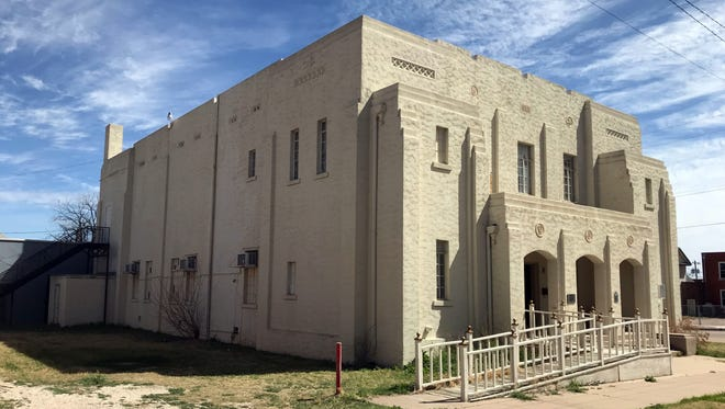 San Angelo's Masonic Lodge at 130 South Oakes Street, which is listed in the National Register of Historic Places, was recently purchased by BackBeat Music Company. Mar. 8, 2018.