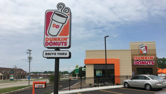 Dunkin Donuts opened a new location, its third in the Green Bay area, at 2125 Main St.
