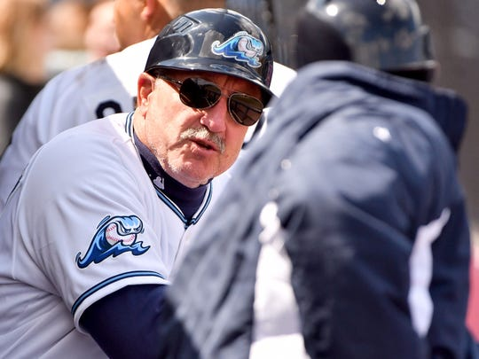Former Detroit Tigers All-Star catcher Lance Parrish is in his first season as manager of the Single-A West Michigan Whitecaps.