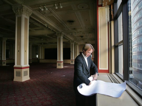 Architect Kirk Blunck rolls up his plans to renovate