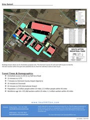 South Afton Industrial Park flyer.