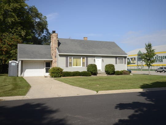 This house at 880 Stadium Drive was one of the first near Lambeau Field to be converted for game day use.