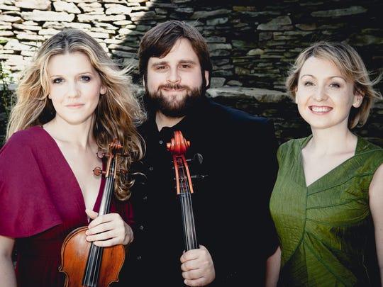 Neave Trio plays RIT's Ingle Auditorium Oct. 24.