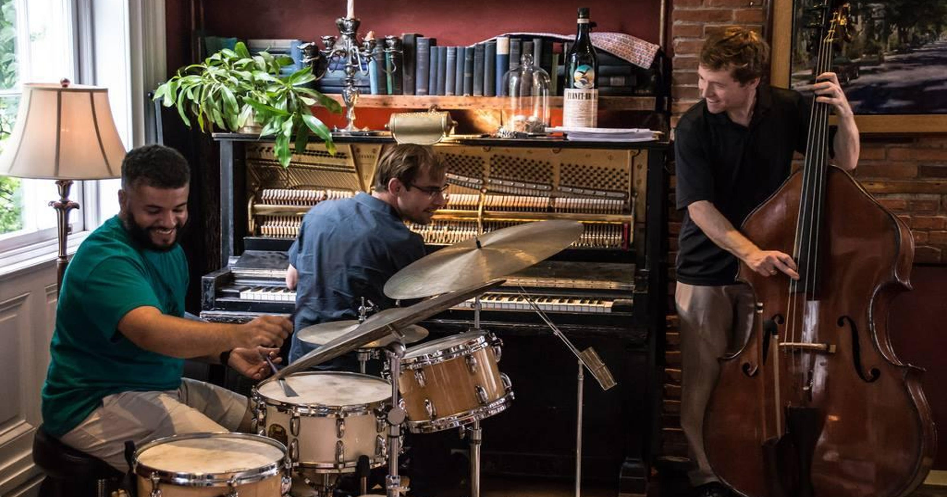 Jazz trio captures communal vibe on new album