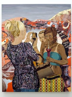 """Lookers II,"" by Alison Elizabeth Taylor, is included in the ""Winter In America"" exhibit at the Jack Shainman Gallery, The School, in Kinderhook."