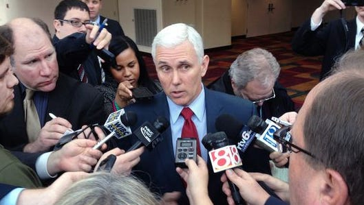 Gov. Mike Pence's public image has taken a serious hit, since the Religious Freedom Restoration Act debacle, according to a new poll from Howey Politics Indiana. One  possible fallout for the Republican: Once considered a presidential contender, Pence may now face a stiff challenge in a re-election campaign for governor.