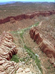 The varied terrain of the Grand Staircase-Escalante