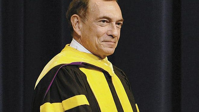 Lewis Duncan, provost of the Naval War College