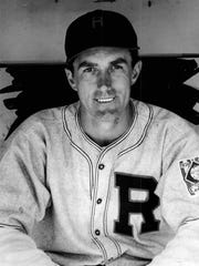 Rochester Red Wings outfielder Estel Crabtree. (Staff photos, 1930s)