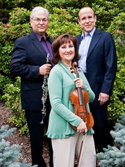 Chamber trio Ani Kavafian, André-Michel Schub and David Shifrin open Lawrence Artist Series concert Oct. 7.