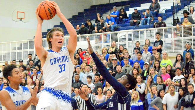 Carlsbad's Brenden Boatwright was named the District 3-6A player of the year.