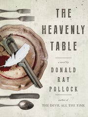 """The cover of """"The Heavenly Table,"""" the third book by"""