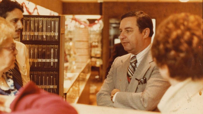 Irving Mann in the Monroe Avenue location in the 1970s.