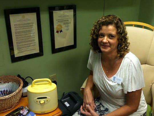 Sherri Hedberg, excutive director at Lisa Ross Birth