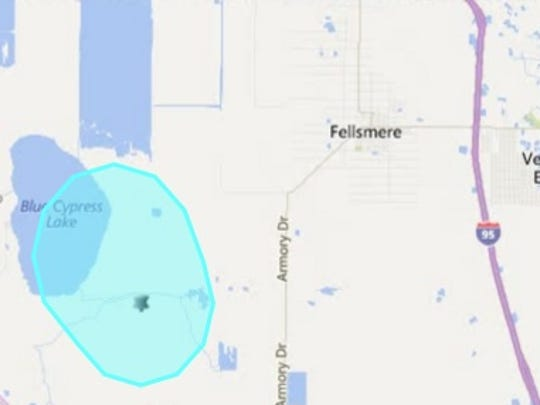 A 12,000-acre prescribed burn is planned for Wednesday near Fellsmere.