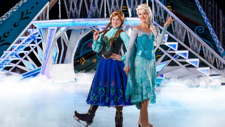 Disney on Ice presents Frozen comes to Greenville this week