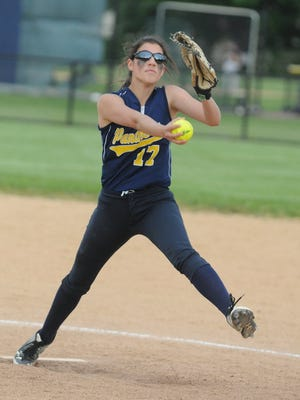 Pequannock senior Hannah Brizek returns to the Golden Panthers' pitching rotation for the third-straight year.