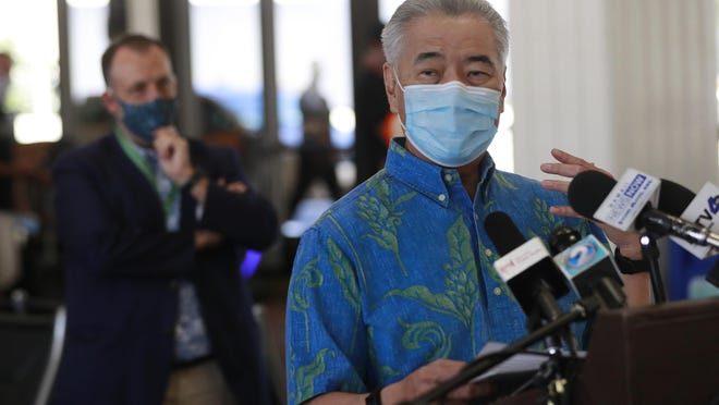 Hawaii Gov. David Ige took sweeping action when he suspended the state's entire open-records law in March 2020. He later eased the suspension under pressure from open-government advocates.