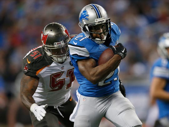 Reggie Bush is the last Lions running back to run for 100 yards or more in a game, running for 117 yards in a 40-10 win on Thanksgiving over the Packers in 2013.
