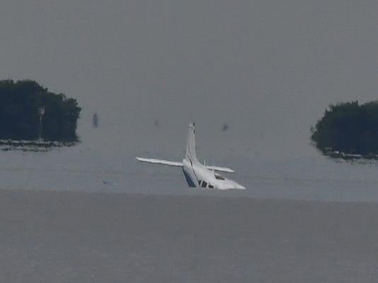 Plane crash in Merritt Island