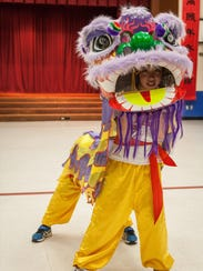 The lion dance is one of the traditional dances that