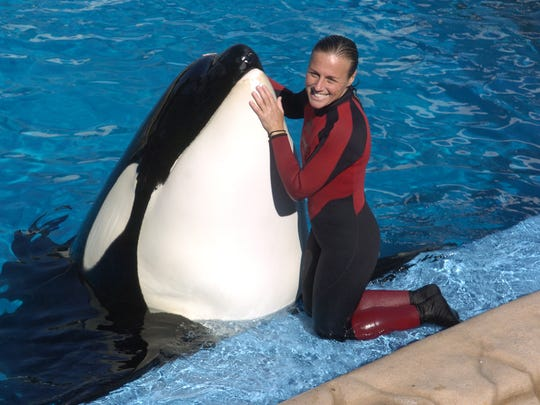 Dawn Brancheau, a trainer at SeaWorld Adventure Park, is shown in 2005. The Indiana native was killed in an accident with an orca at SeaWorld's Shamu Stadium in Orlando, Fla., in 2010.