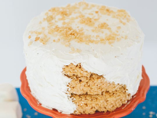 Make Rice Krispies Treats in springform pans, stack and frost (or not) for a birthday cake alternative.