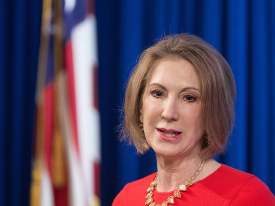 Carly Fiorina is the former Hewlett-Packard CEO.
