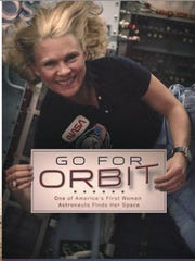 "Rhea Seddon's debut book, ""Go for Orbit,"" will be available"