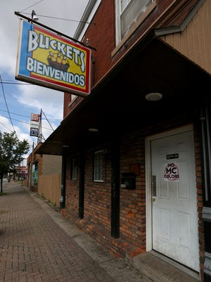 Two people were shot near this bar at 7121 Vine Street in Carthage around 2:45 a.m.  Tuesday.
