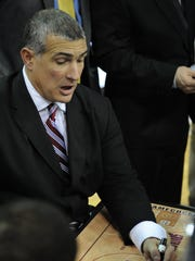 South Carolina basketball coach Frank Martin and the Gamecocks got the nod from Delaware combo guard Kory Holden, a 6-2 point guard who was named second team All-Colonial Athletic Association last year.