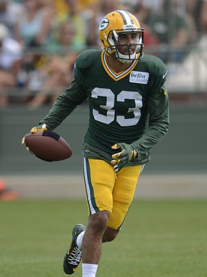 Green Bay Packers defensive back Micah Hyde.