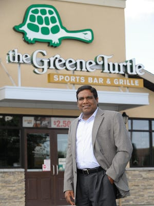 Parthiban Jayaraman owns the Greene Turtle in Dover and seven Dunkin' Donuts in New Castle County. He and his business partner received a $2.8 million Small Business Administration-backed loan to finance the opening of a second Greene Turtle location.