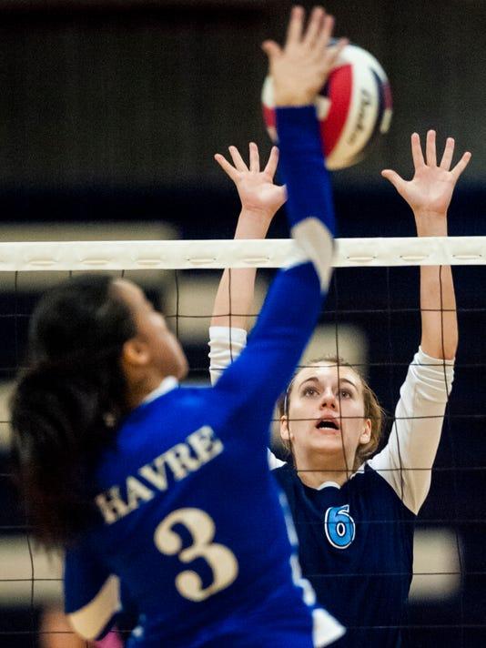 Bison-Havre volleyball