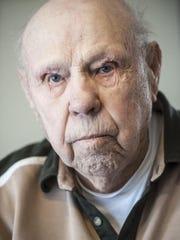 Ted Garnett, 94, spent the Christmas of 1943 preparing